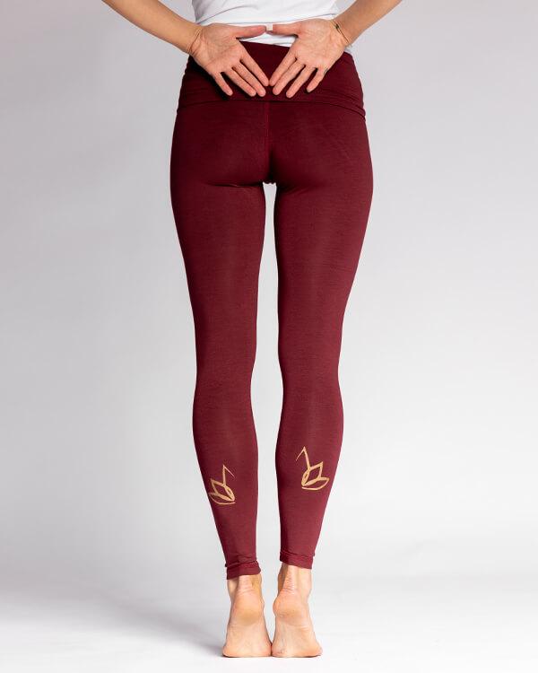 Nicoya Soul Wear Pura Vida Legging Bordeaux - 1